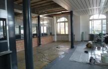 Schalterhalle Weinfelden im Bau